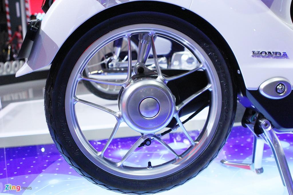 Chi tiet concept Honda EV-Cub chay dien vua ve Viet Nam hinh anh 5