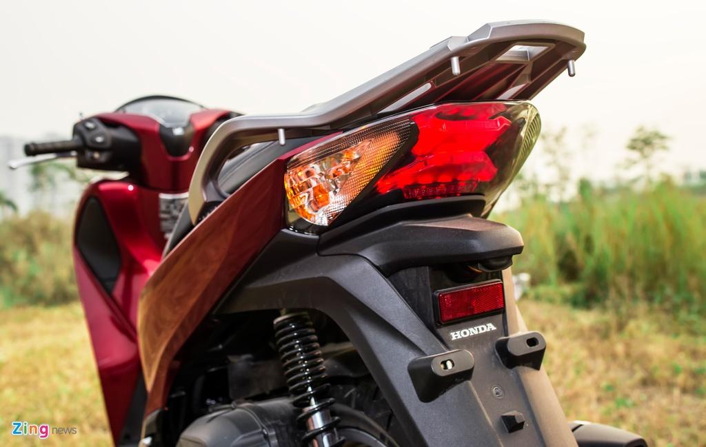 Anh Honda SH 150i ABS 2017 mau do, gia 90 trieu vua ban o VN hinh anh 5