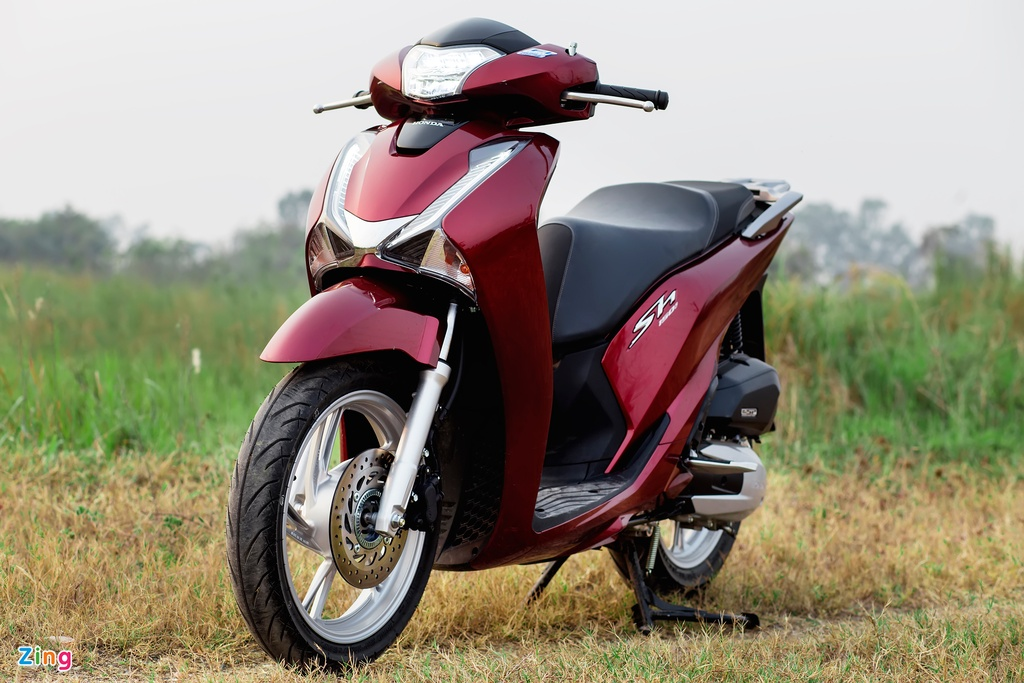 Anh Honda SH 150i ABS 2017 mau do, gia 90 trieu vua ban o VN hinh anh 2