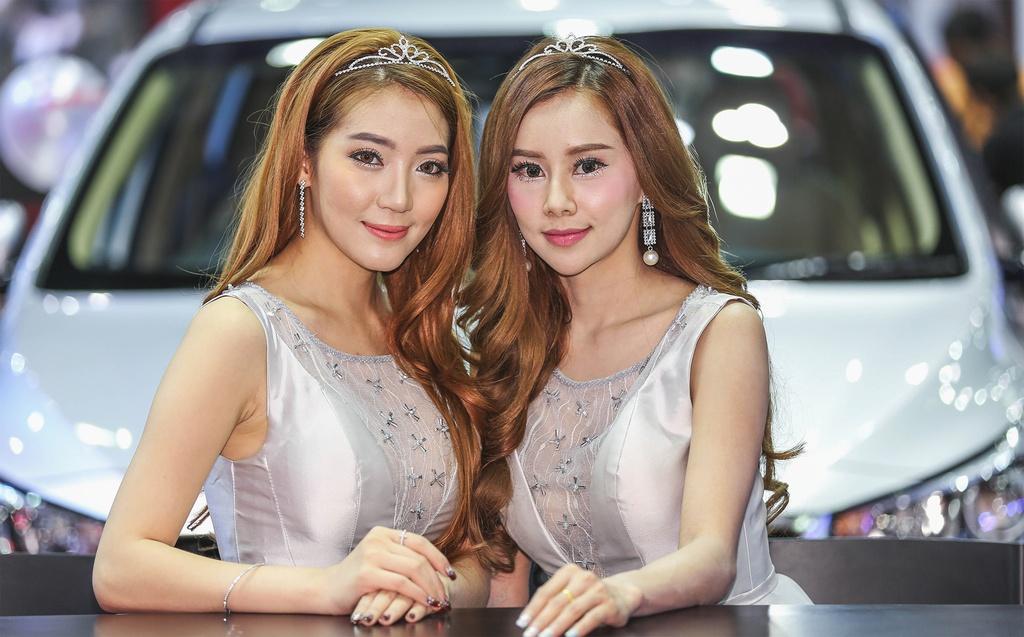 Nguoi dep khoe sac o trien lam Bangkok Motor Show 2017 hinh anh 6
