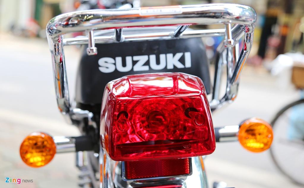Con tay co dien Suzuki GN125-2F 2017 dau tien ve Ha Noi hinh anh 8