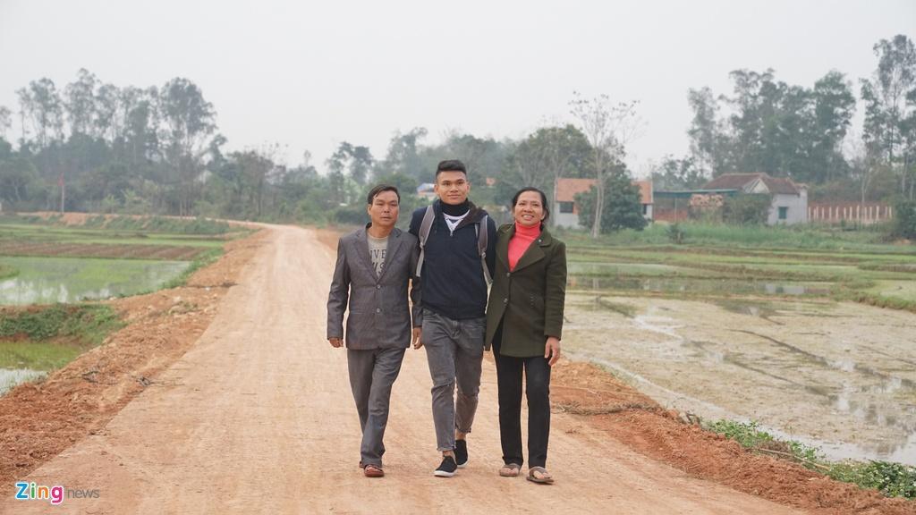 Tuyen thu U23 Van Duc - Xuan Manh: Niem tu hao Yen Thanh hinh anh 2