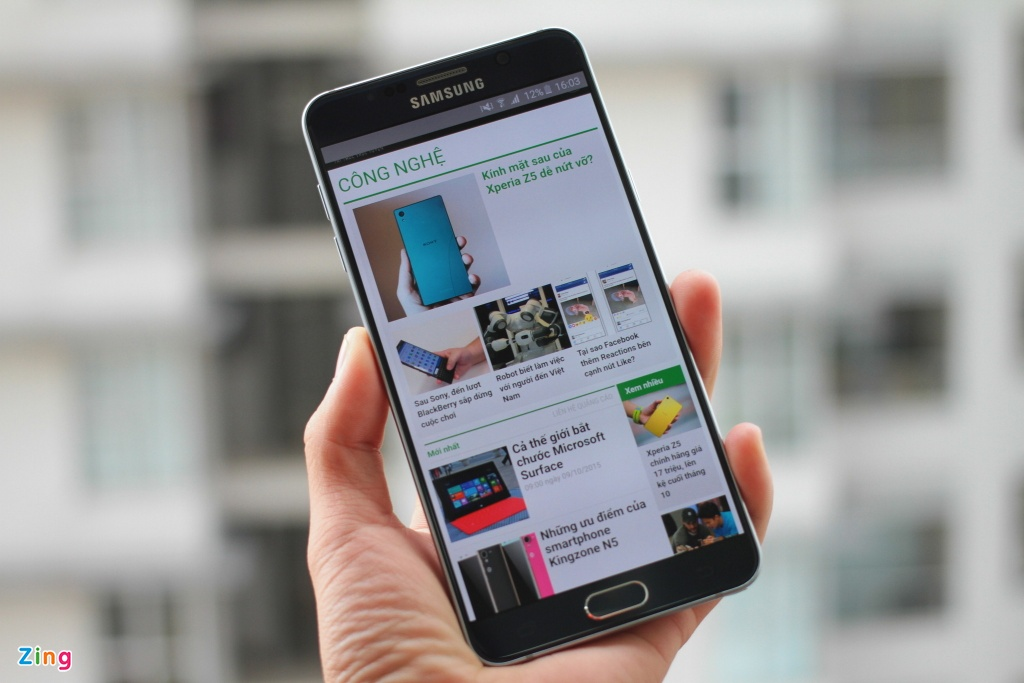 Danh gia Galaxy Note 5: S Pen an tuong hinh anh 3