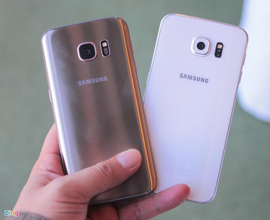 Thuc te Samsung Galaxy S7: Lung cong, chong nuoc hinh anh 14