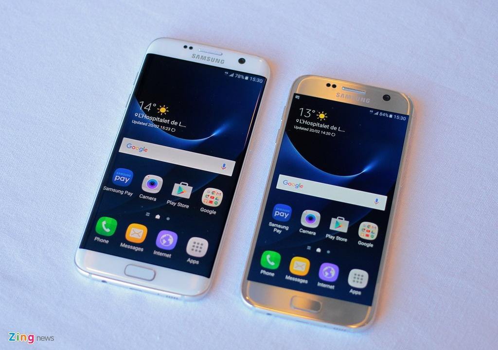 Thuc te Samsung Galaxy S7: Lung cong, chong nuoc hinh anh 2