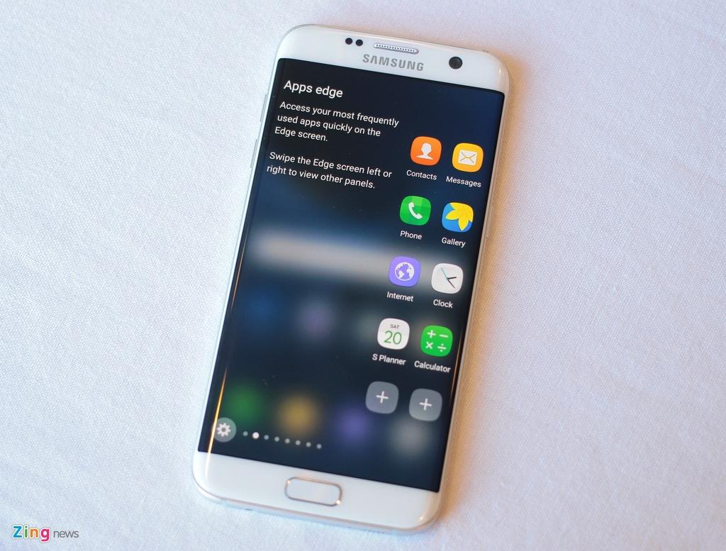 Anh, video thuc te Galaxy S7 edge voi man hinh cong 2 mat hinh anh 3