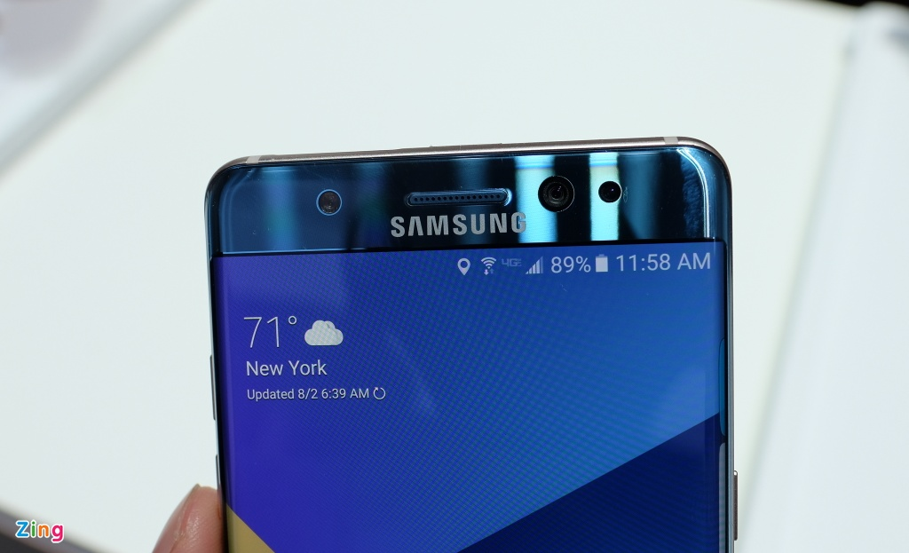 Anh, video thuc te Samsung Galaxy Note 7 hinh anh 4