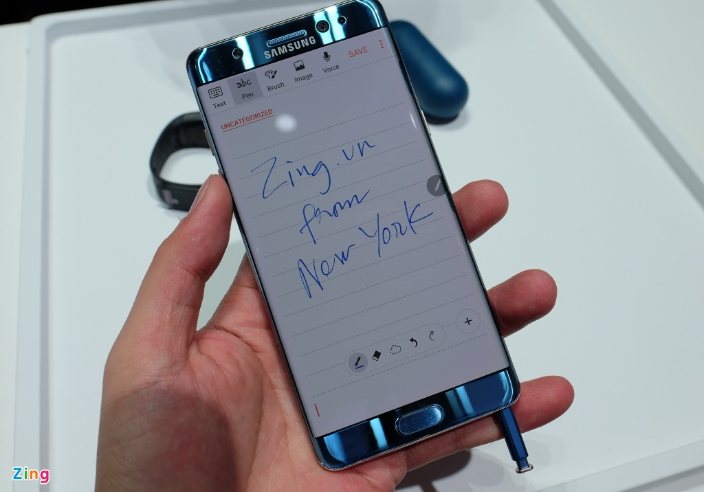 Anh, video thuc te Samsung Galaxy Note 7 hinh anh 6