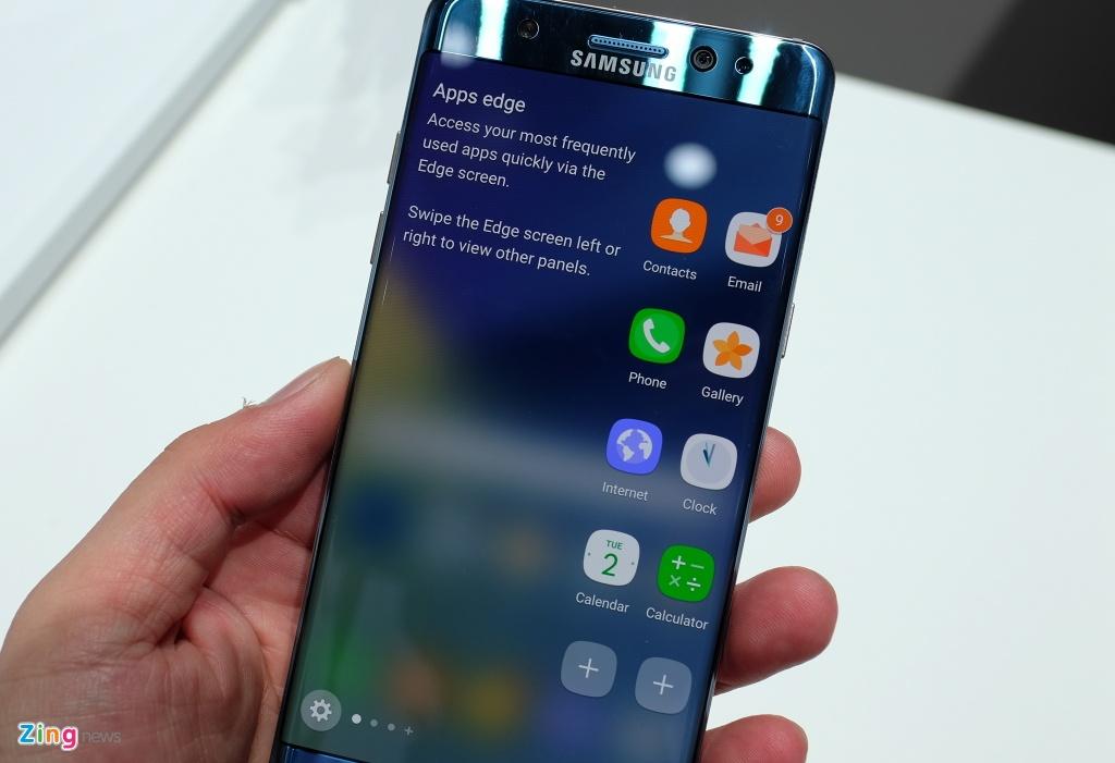 Anh, video thuc te Samsung Galaxy Note 7 hinh anh 7