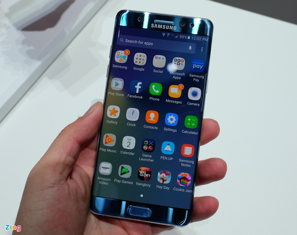 Anh, video thuc te Samsung Galaxy Note 7 hinh anh 9