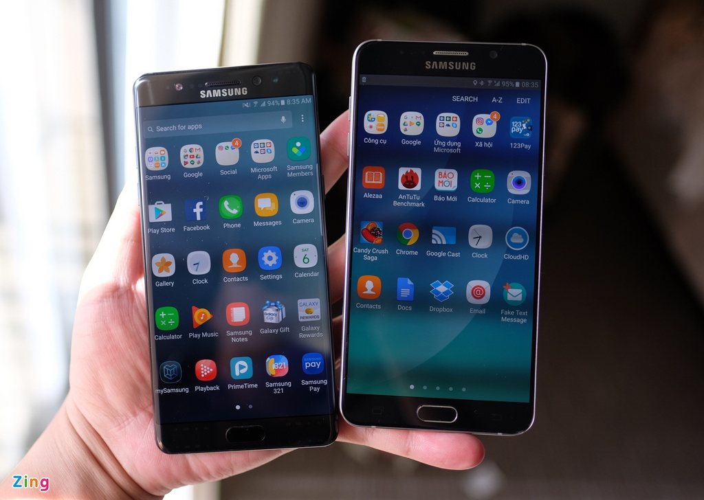 Galaxy Note 7 so thiet ke voi Note 5 hinh anh 1