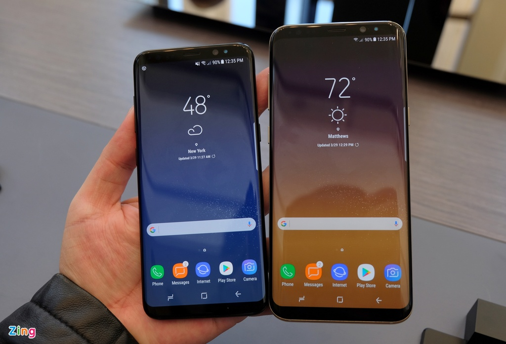 Anh thuc te Galaxy S8: Smartphone dep nhat hien nay hinh anh 17
