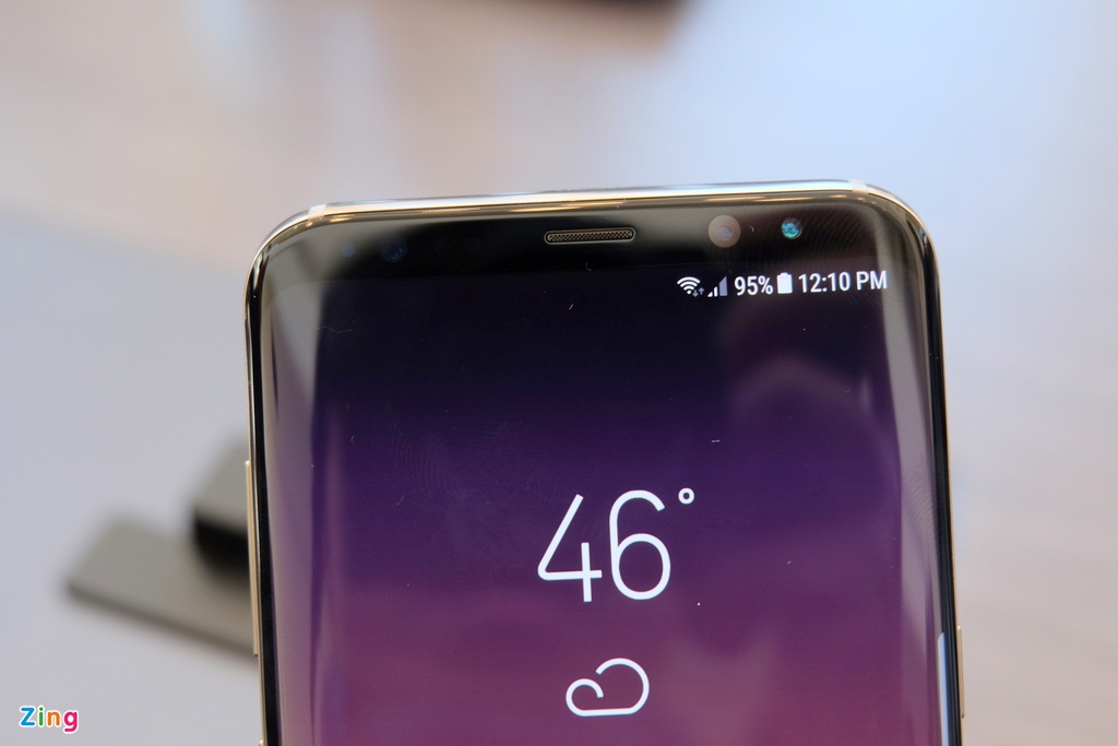 Anh thuc te Galaxy S8: Smartphone dep nhat hien nay hinh anh 4