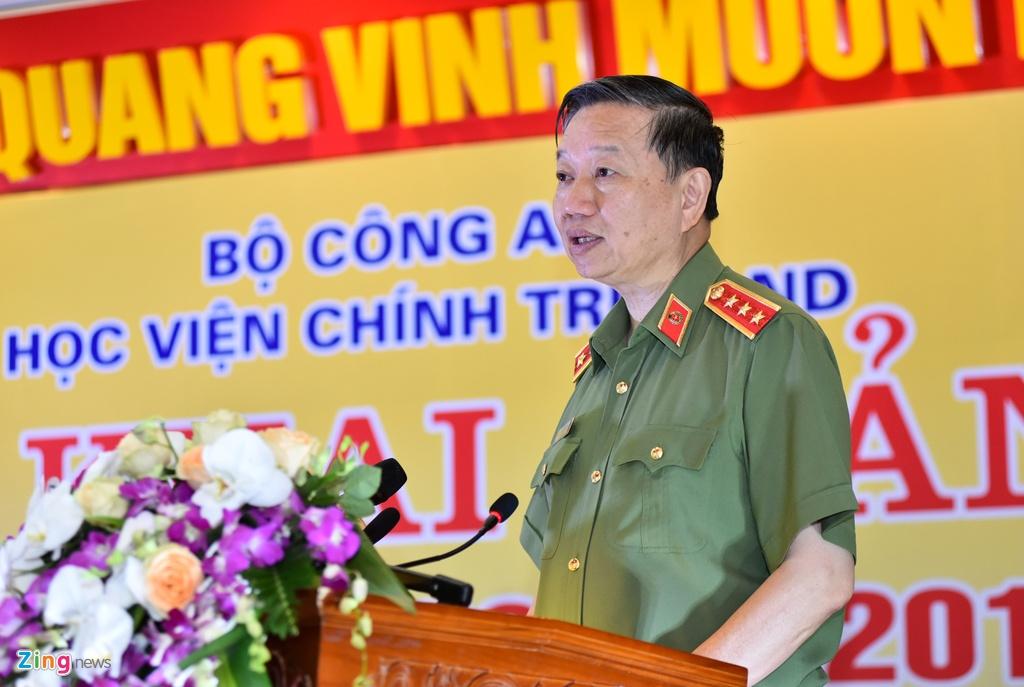 Bo truong To Lam, Truong Minh Tuan du le khai giang hinh anh 5