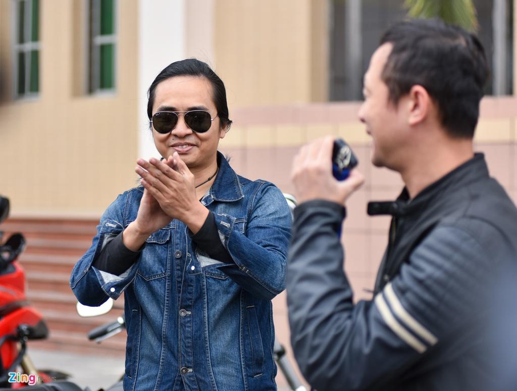 MC Anh Tuan dan 160 moto dieu hanh tuong nho Tran Lap hinh anh 12