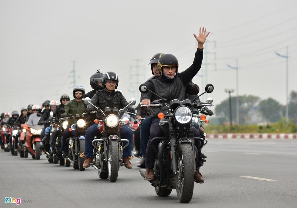 MC Anh Tuan dan 160 moto dieu hanh tuong nho Tran Lap hinh anh 7