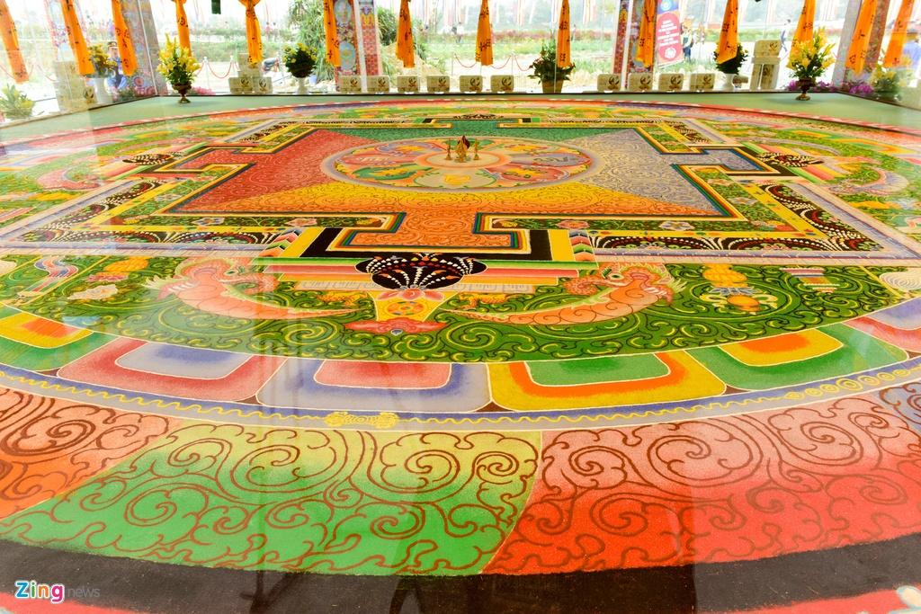 tranh Mandala lon nhat Viet Nam anh 2