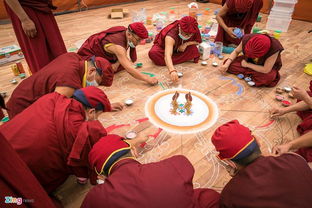 tranh Mandala lon nhat Viet Nam anh 3