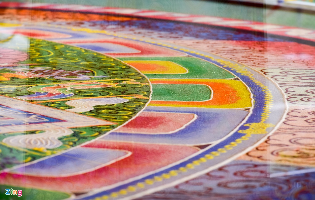 tranh Mandala lon nhat Viet Nam anh 4