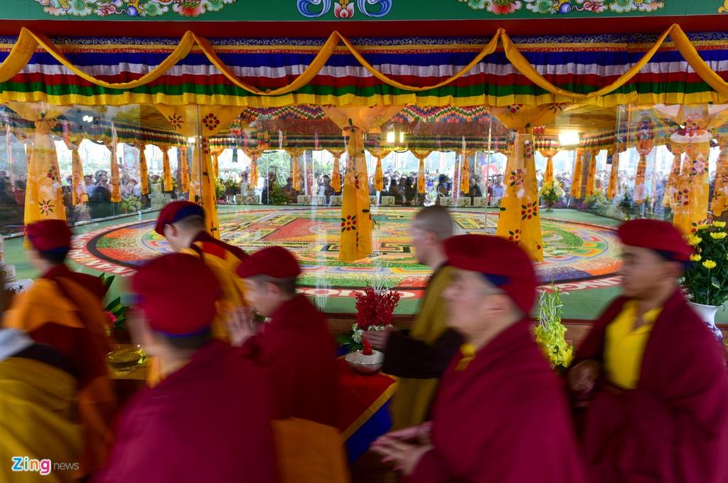 tranh Mandala lon nhat Viet Nam anh 5