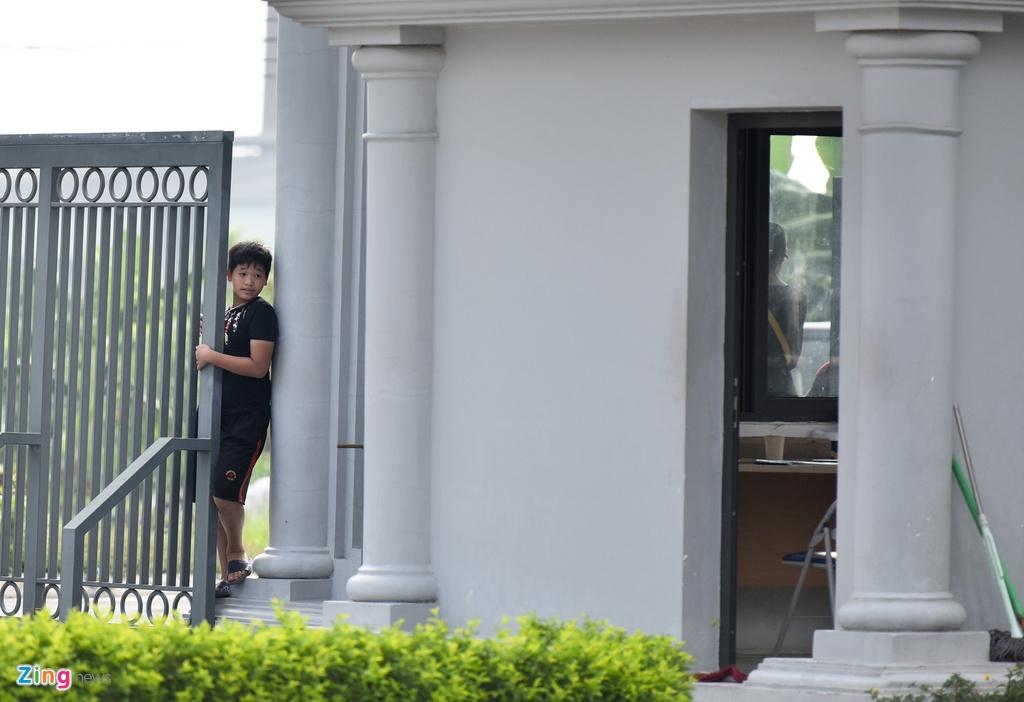 Cong Phuong, Van Toan vui ve trong buoi tap cua U23 VN hinh anh 11