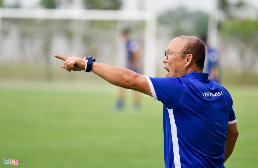 Cong Phuong, Van Toan vui ve trong buoi tap cua U23 VN hinh anh 9