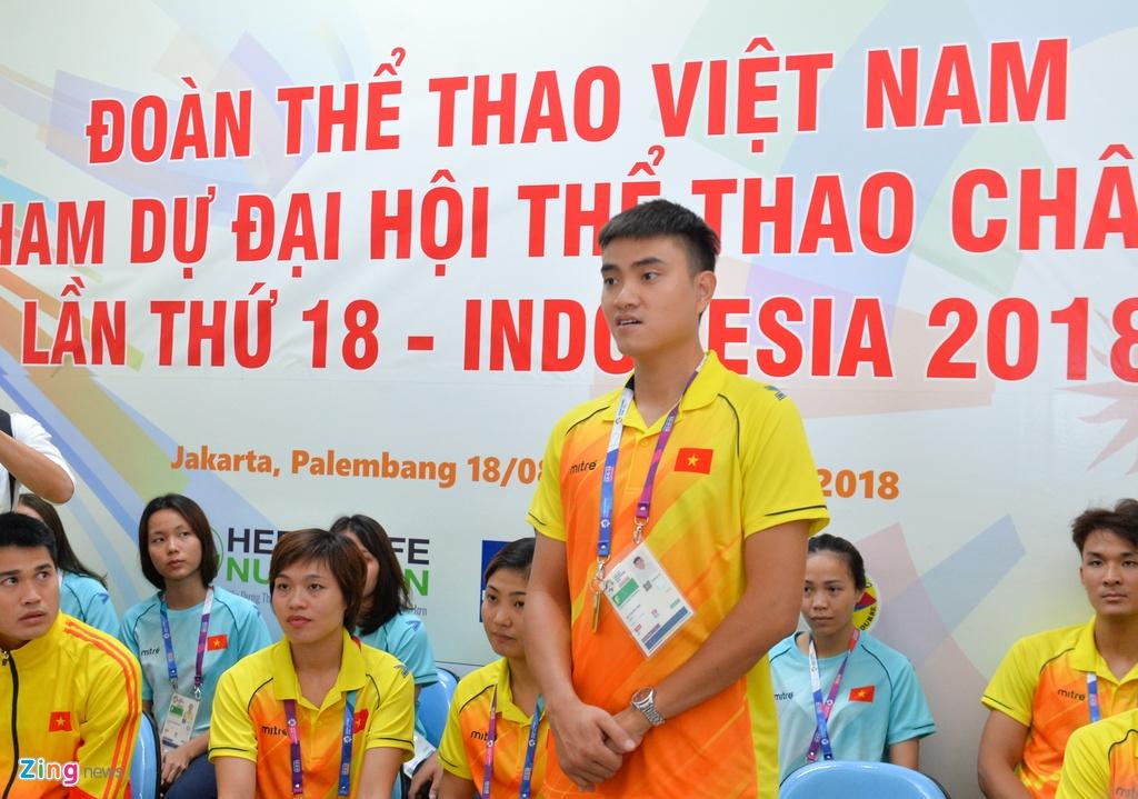 Bo truong Thien mong VDV Viet Nam tai ASIAD fair-play nhu U23 hinh anh 4