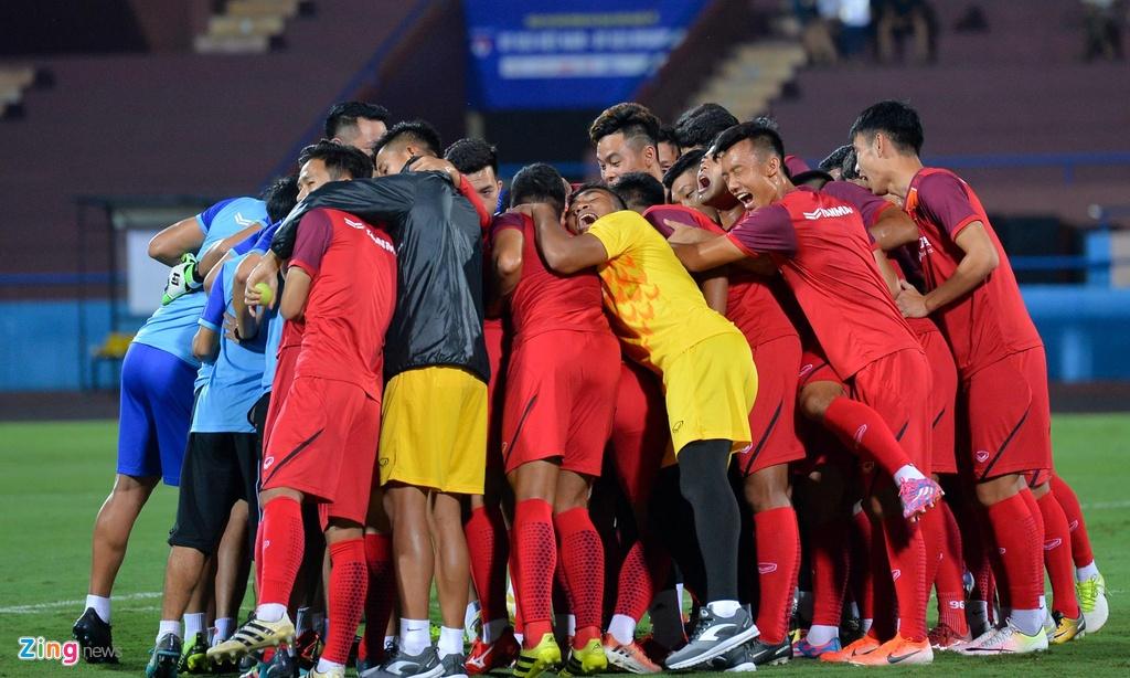 U23 Viet Nam thu san Phu Tho truoc tran giao huu voi Myanmar hinh anh 1