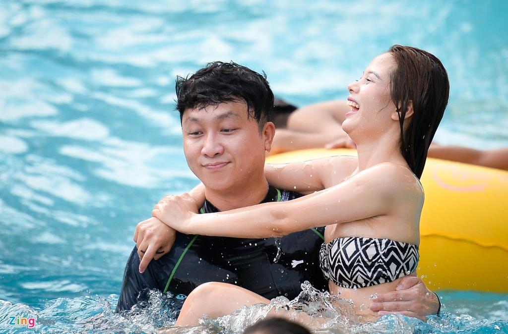 Thieu nu Ha thanh mac bikini tam giai nhiet anh 5