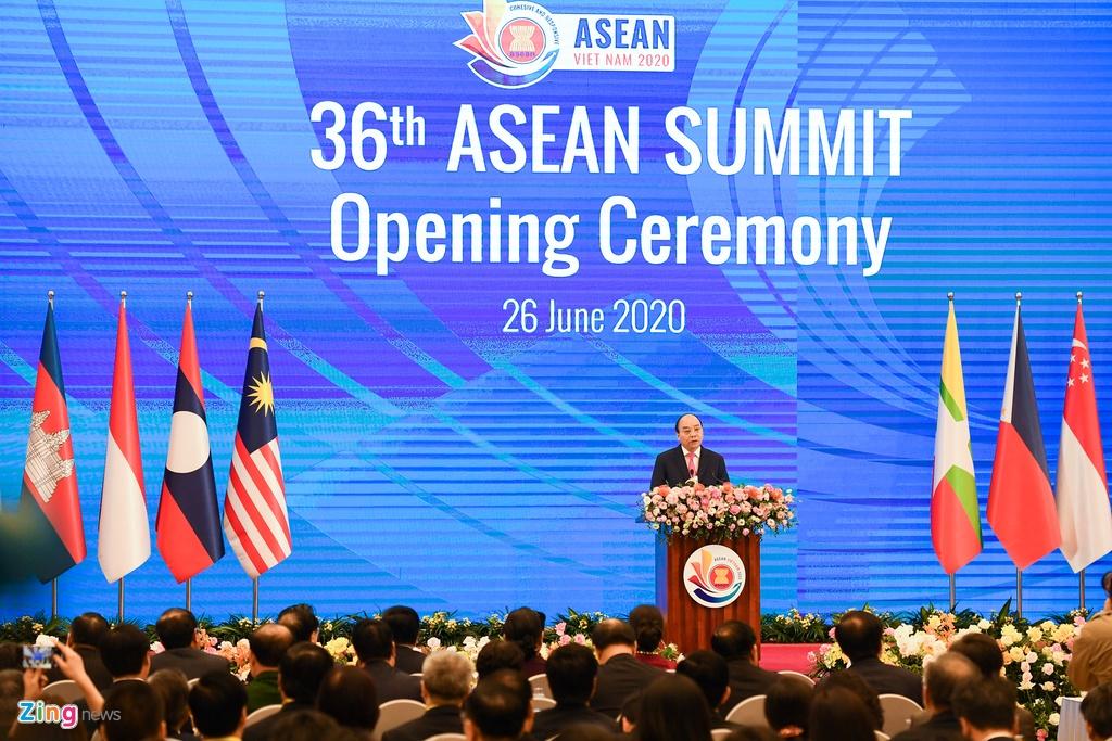 Thu tuong khai mac hoi nghi ASEAN anh 2