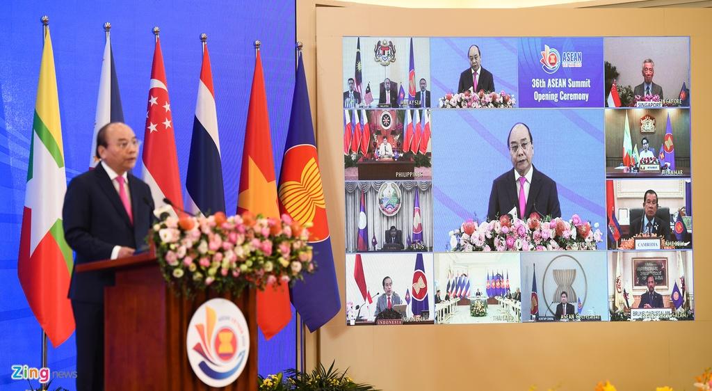 Thu tuong khai mac hoi nghi ASEAN anh 4