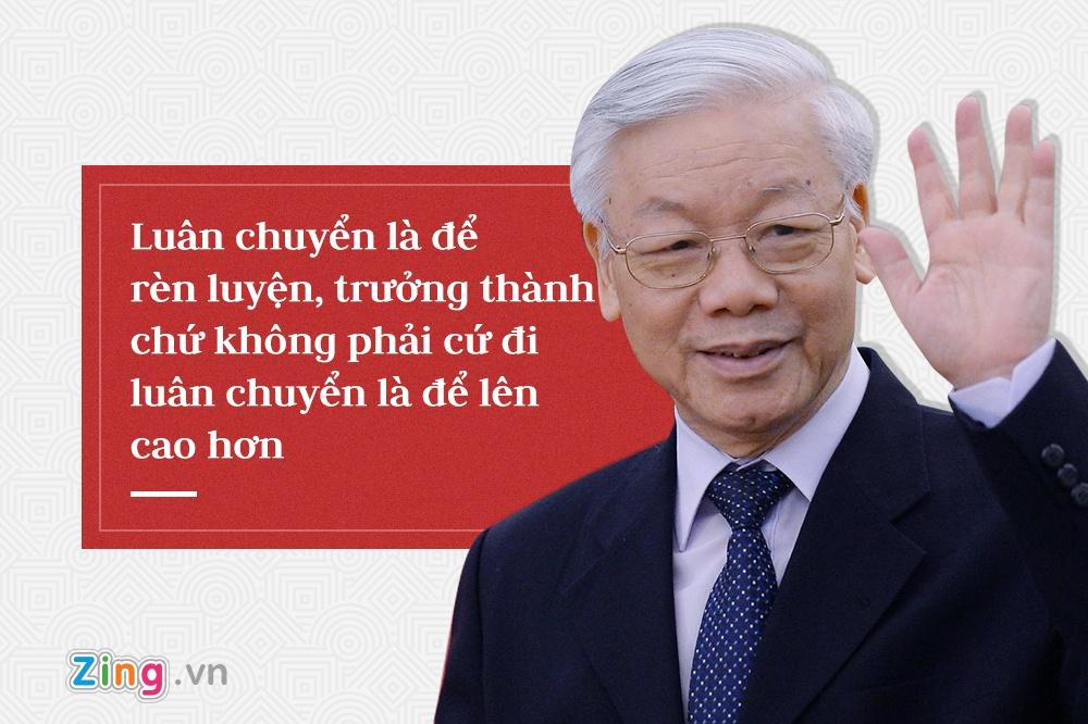 Tong bi thu Nguyen Phu Trong,  trung uong 7 anh 10