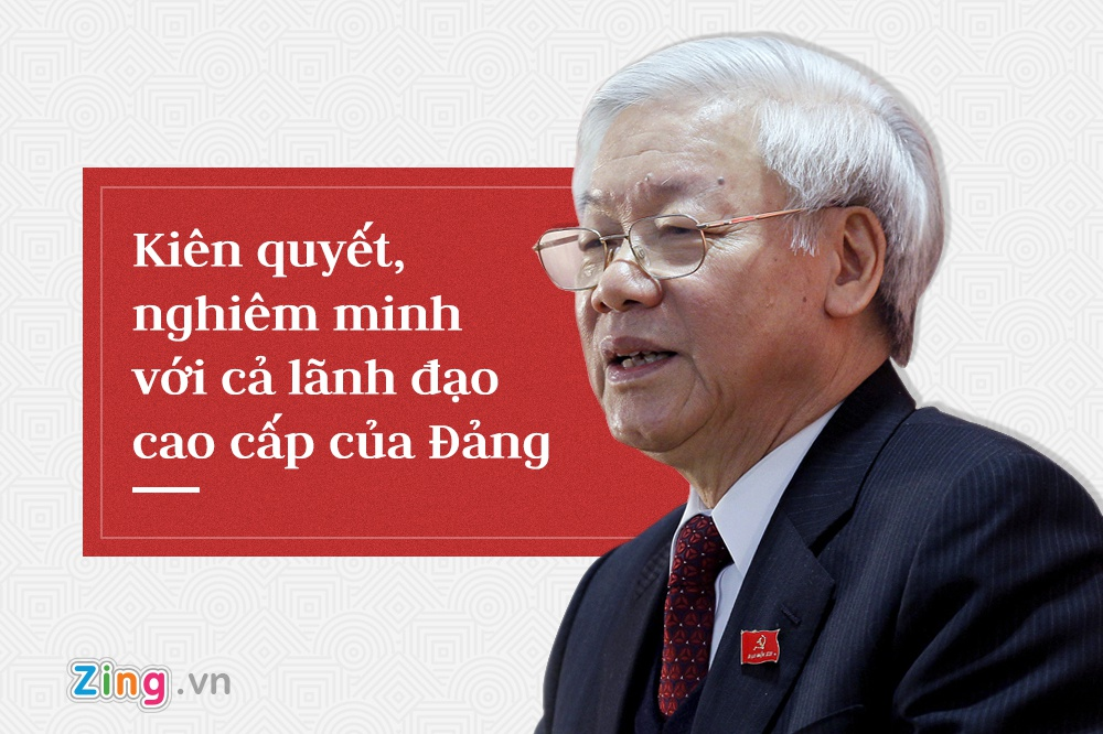 Tong bi thu Nguyen Phu Trong,  trung uong 7 anh 11