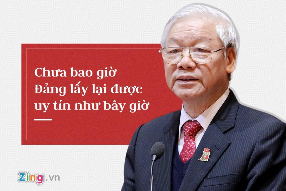 Tong bi thu Nguyen Phu Trong,  trung uong 7 anh 13