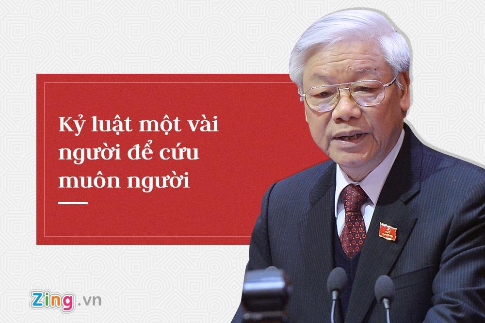 Tong bi thu Nguyen Phu Trong,  trung uong 7 anh 2