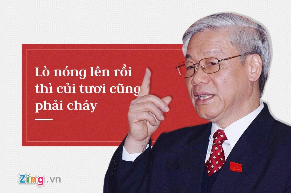 Tong bi thu Nguyen Phu Trong,  trung uong 7 anh 4