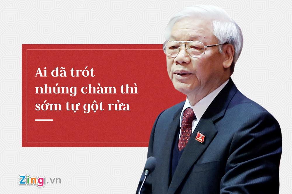 Tong bi thu Nguyen Phu Trong,  trung uong 7 anh 5