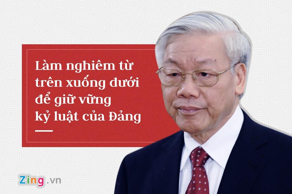 Tong bi thu Nguyen Phu Trong,  trung uong 7 anh 6
