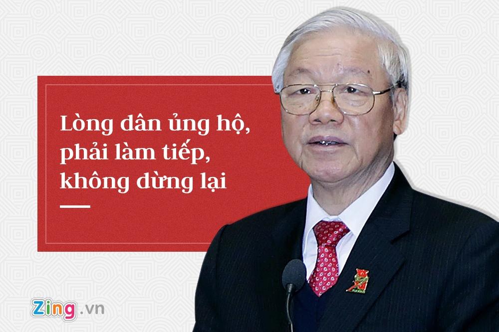 Tong bi thu Nguyen Phu Trong,  trung uong 7 anh 7