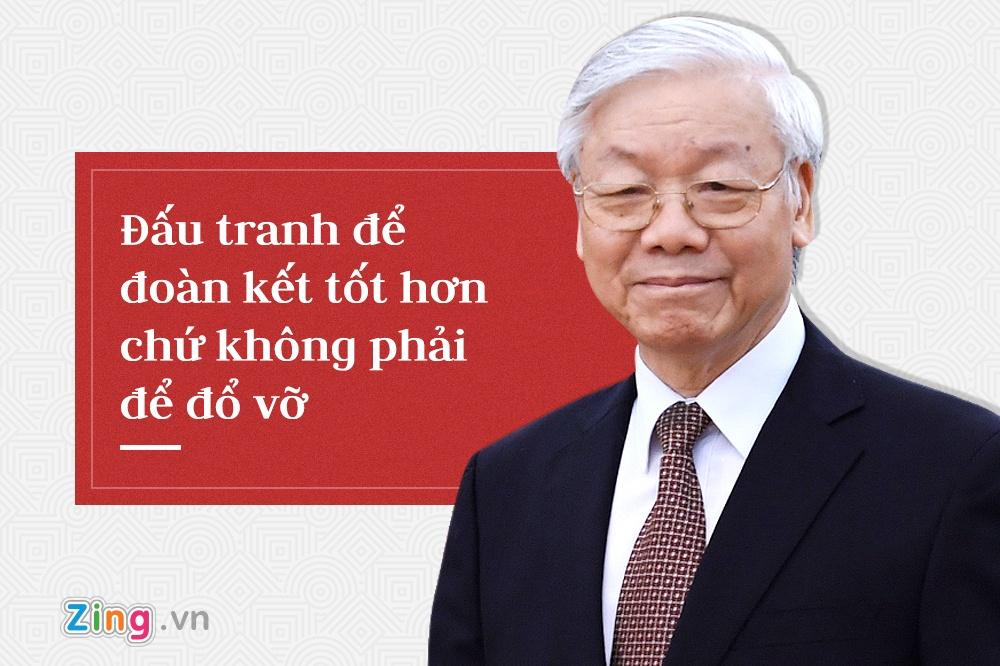 Tong bi thu Nguyen Phu Trong,  trung uong 7 anh 8
