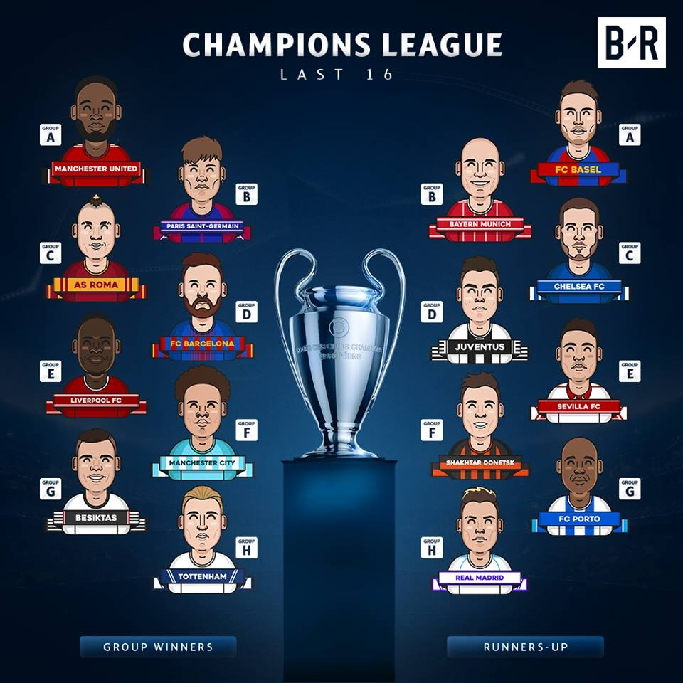 16 anh tai gop mat o vong knock-out Champions League nam nay hinh anh 17
