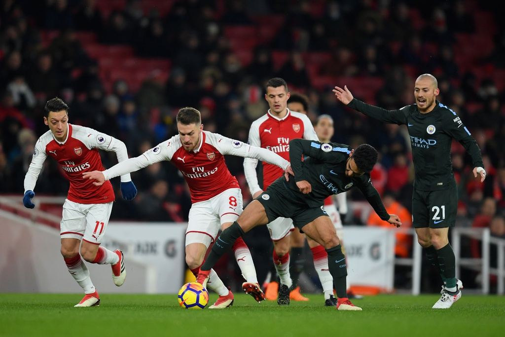 Man City ha nhuc Arsenal lan thu 2 trong chua day mot tuan hinh anh 2