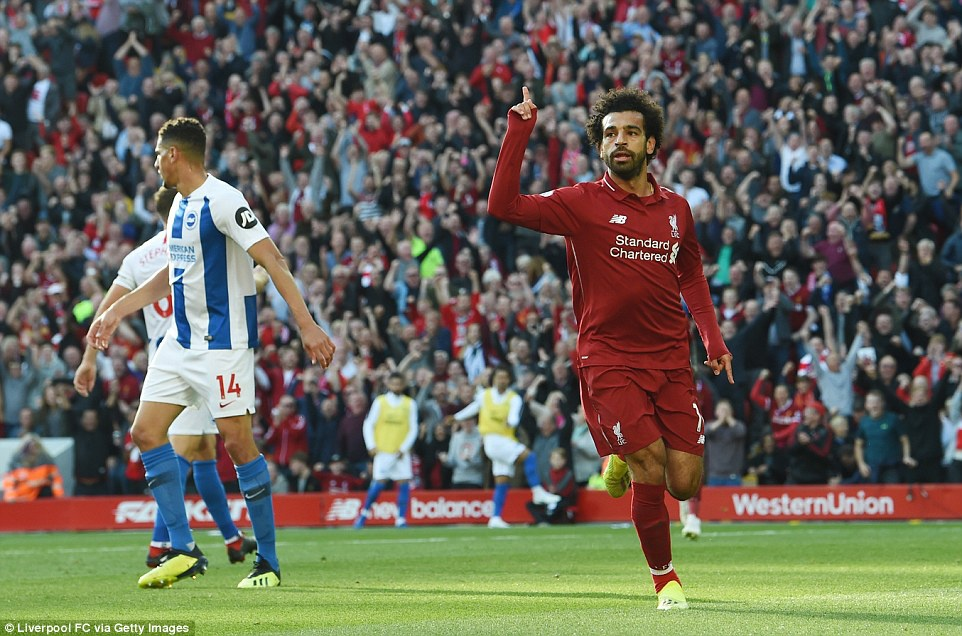 Salah toa sang dua Liverpool len vi tri dan dau Premier League hinh anh 6