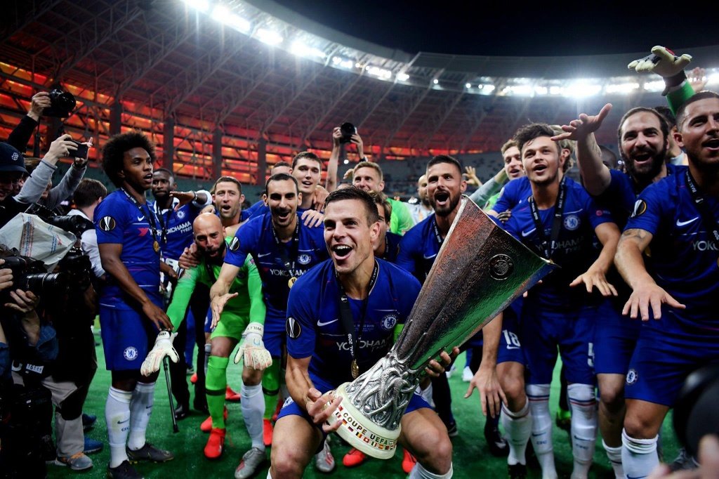 Chelsea vo dich Europa League anh 7