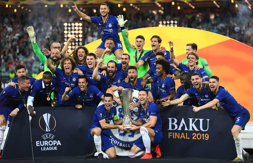 Chelsea vo dich Europa League anh 1