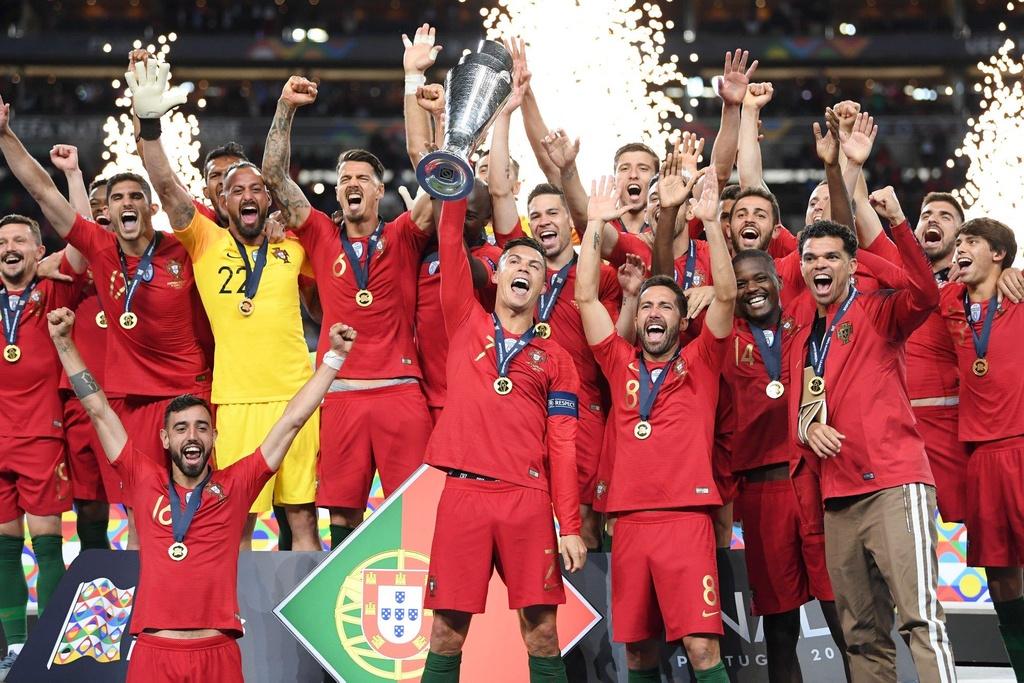 Ronaldo vo dich Nations League anh 2