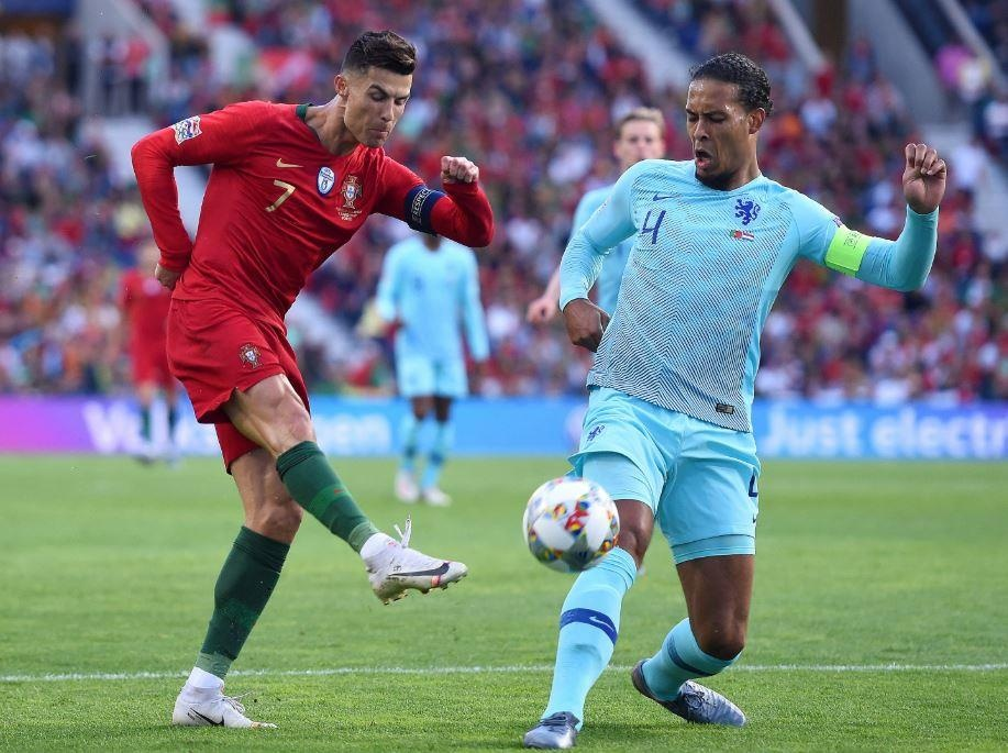 Ronaldo vo dich Nations League anh 8
