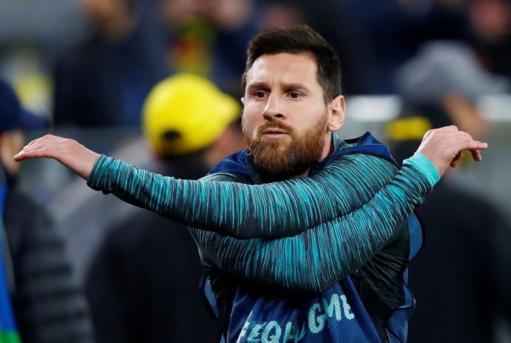 Messi nhat nhoa trong ngay Barca gap kho truoc Dortmund hinh anh 1
