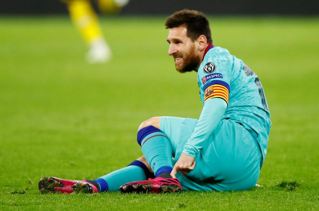 Messi nhat nhoa trong ngay Barca gap kho truoc Dortmund hinh anh 4