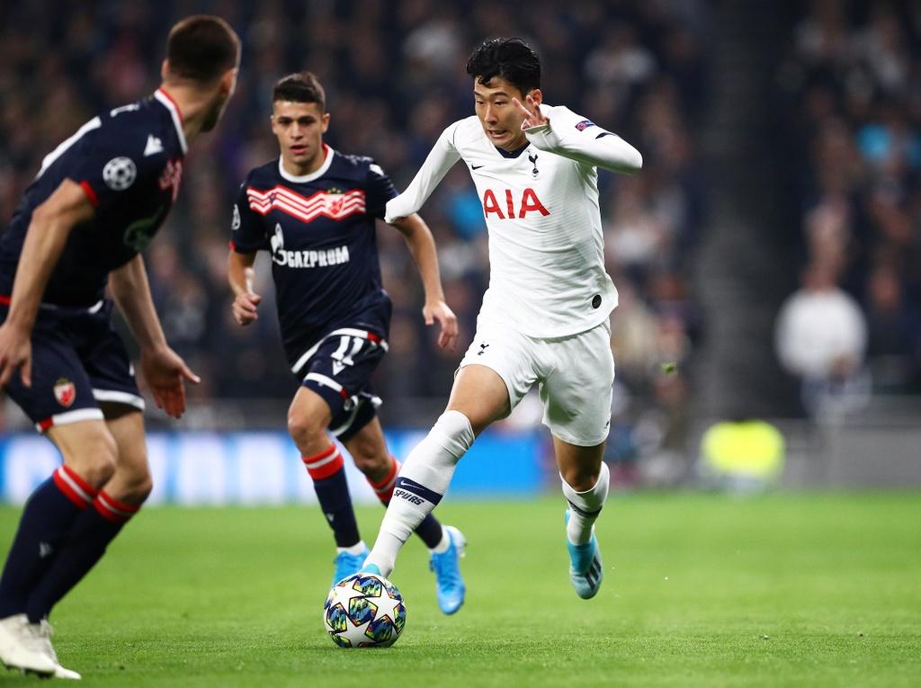 Son Heung-min lap cu dup giup Tottenham tao ky luc o cup chau Au hinh anh 2